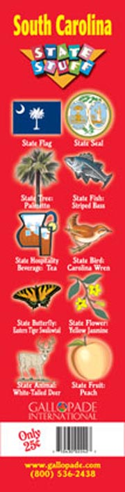 South Carolina Symbols Bookmark