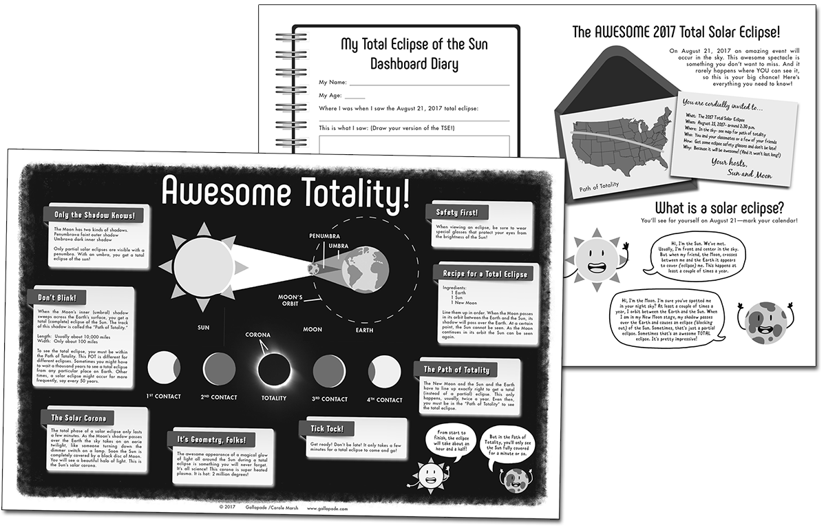 The Awesome 2017 Total Solar Eclipse FunPack
