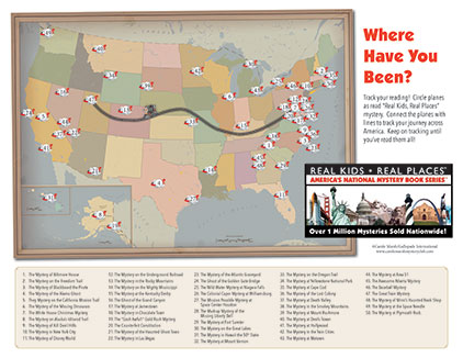 Track the locations of Real Kids! Real Places!