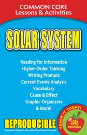 Solar System — Common Core Lessons & Activities