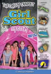 The Creepy Campout Girl Scout Mystery (5-year Online License)
