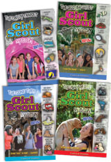 Girl Scout Mysteries Set of 4 Paperbacks