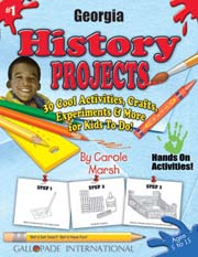Georgia History Projects - 30 Cool Activities, Crafts, Experiments & More for Kids to Do to Learn About Your State!