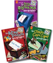 Postcard Mysteries Set of 3 Hard Covers