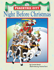 The Peachtree City Night Before Christmas Book