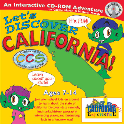 Lets Discover California Cd