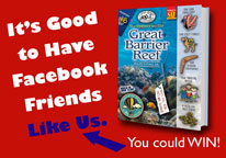 Like us on Facebook and enter to win our raffle!