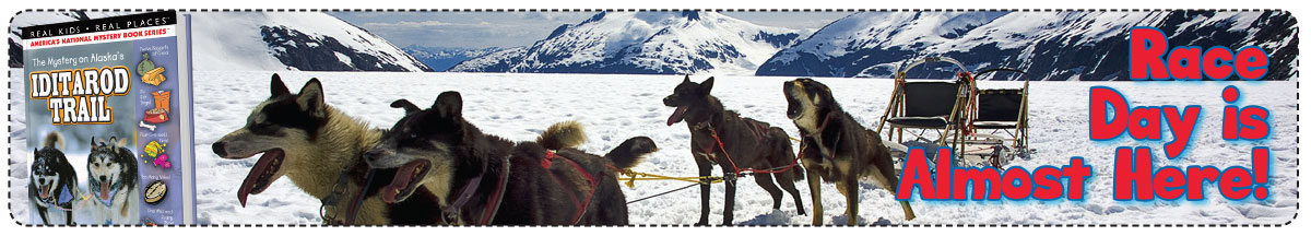 The Iditarod Race begins on March 7, 2015!
