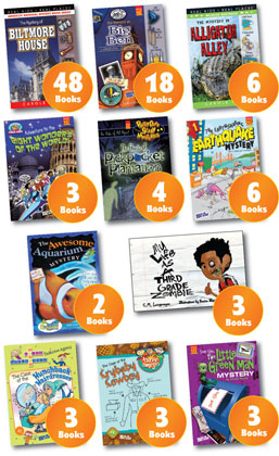 Vacationing or Staycationing-We have all the mysteries your kids will love!