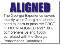 100% Aligned specifically for Georgia Students and Teachers to meet Georgia's Standards!